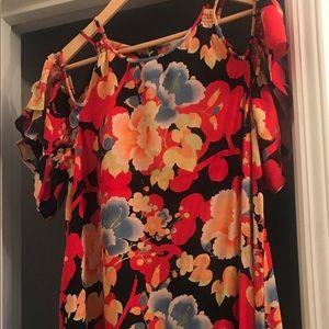 Ann Taylor Loft Multicolored Dress